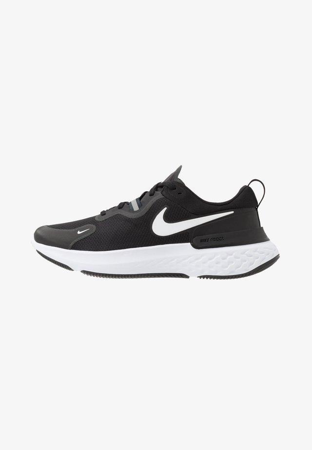 REACT MILER - Chaussures de running neutres - black/white/dark grey/anthracite
