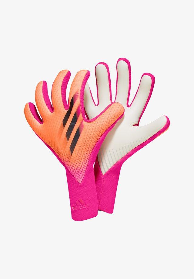Goalkeeping gloves - pinkschwarzorange