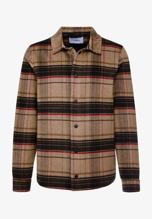 JAXO LUMBER - Shirt - brown check