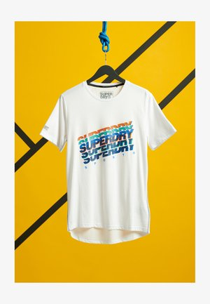 GRAPHIC - Print T-shirt - optic