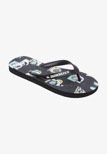 T-bar sandals - black/grey/grey