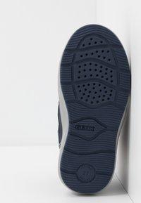 Geox - SLEIGH GIRL ABX - Winter boots - navy/dark lilac - 4