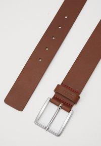 HUGO - GIONIOS - Pásek - medium brown - 2