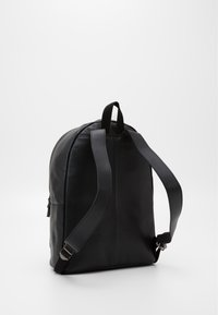 Zign - UNISEX LEATHER - Rucksack - black