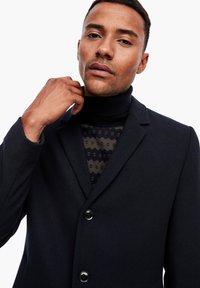 s.Oliver BLACK LABEL - IM CLASSIC SHAPE - Short coat - dark blue melange - 5