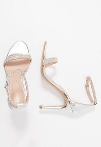 ALDO - AROCLYA - Sandaler med høye hæler - silver - 3