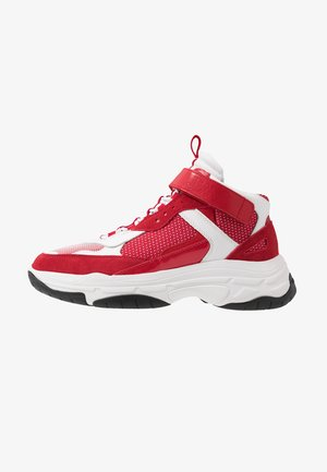 MORDIKAI - Zapatillas altas - white/red