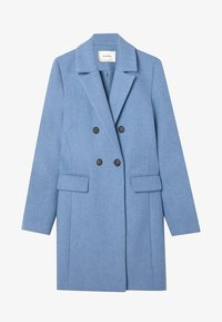 Stradivarius - Classic coat - blue - 4