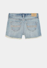 Abercrombie & Fitch - FASHION - Denim shorts - medium  wash - 1