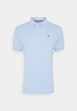 SLIM FIT LOGO - Koszulka polo - blue