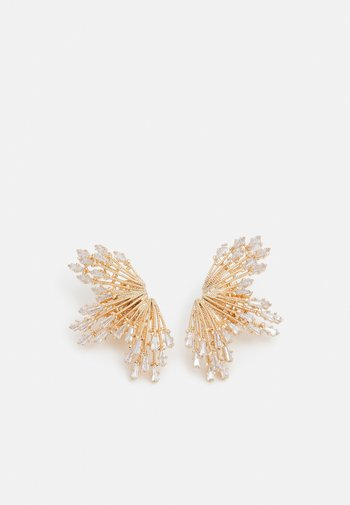 OMEGA CLASP SUN RAYS - Earrings - clear