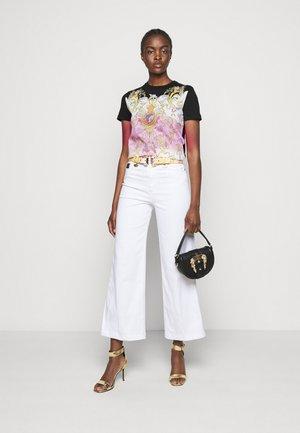 LADY - Print T-shirt - black/pink