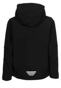 CMP - KID FIX HOOD UNISEX - Softshelljas - nero - 1