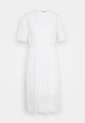 KANO DRESS - Day dress - chalk white