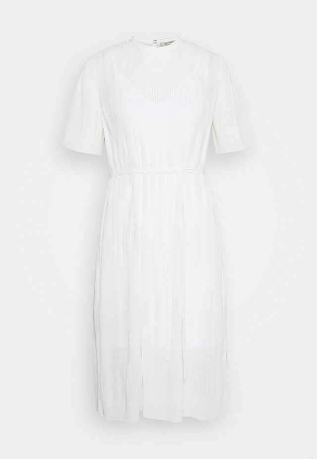 KANO DRESS - Day dress - chalk white