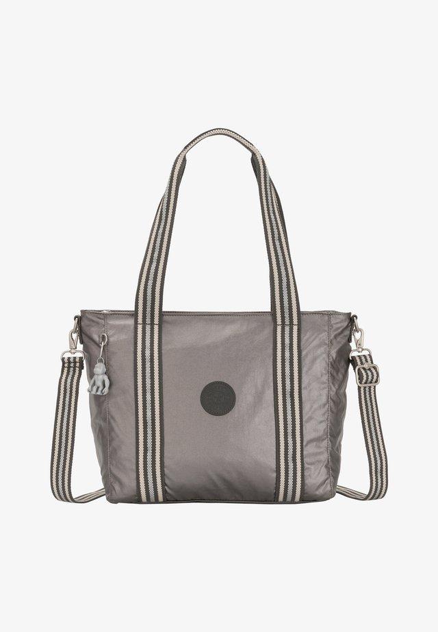 Tote bag - carbon metallic