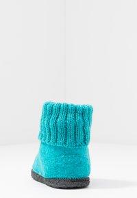 Bergstein - COZY - Domácí obuv - turquoise - 4