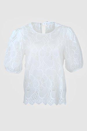 JUNI  - Camicetta - white