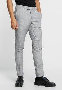 Burton Menswear London - CHAMB  - Trousers - blue - 0