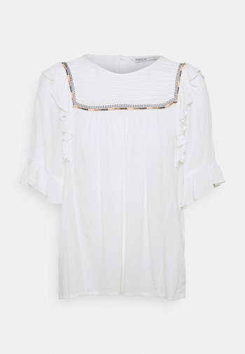ONLMYNTE - Print T-shirt - cloud dancer