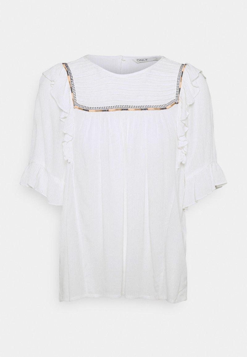 ONLY - ONLMYNTE - Print T-shirt - cloud dancer