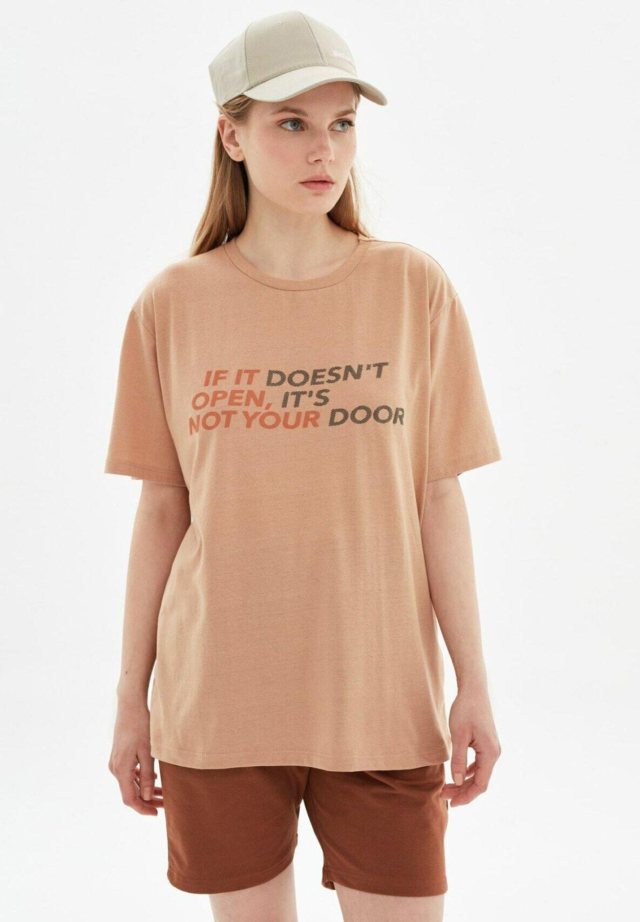 Mujer Camiseta estampada