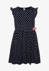Petit Bateau - FLAMANDE DRESS - Vestido ligero - smoking/multicolor - 0