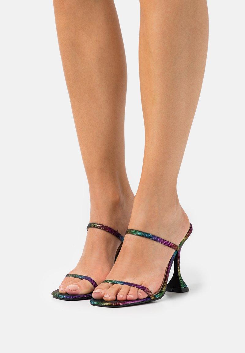 BEBO - SCARLETT - Heeled mules - multicolor