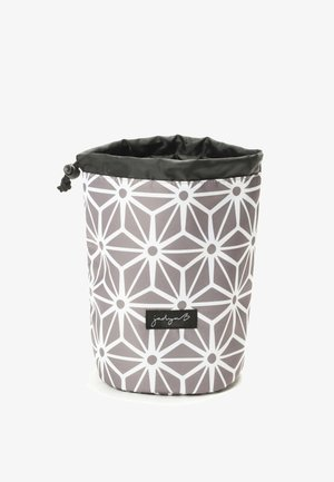 TOP COMPACT TRAVEL - Toiletti-/meikkilaukku - geometric gray
