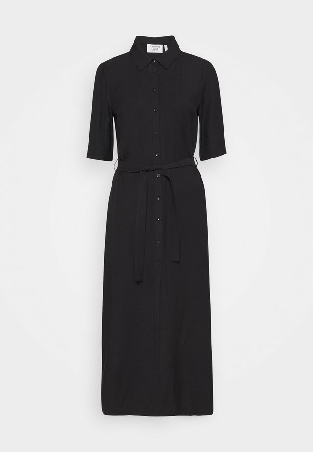 SORBONNE DRESS - Shirt dress - black