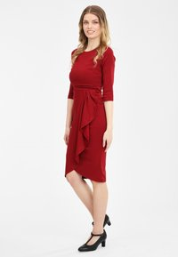 Collectif - CHANTELLE - Cocktail dress / Party dress - burgundy - 1
