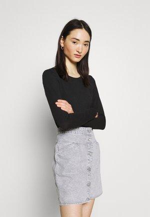 ONLFIFI LIFE O NECK - Long sleeved top - black