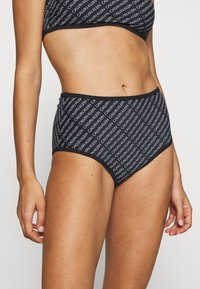 Calvin Klein Swimwear - CORE HIGH RISE - Bikini bottoms - black - 0