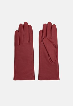 Gloves - rowan red