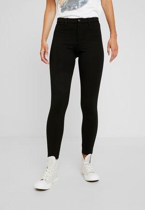 ONLEVIE ANKLE SOLID - Leggings - Trousers - black