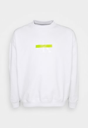 RELAXED FIT CREW - Sweatshirt - bright white