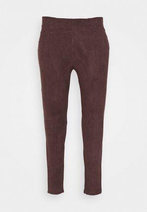 JRATONIA - Leggings - Trousers - chocolate plum