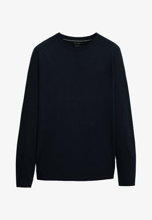 Sweatshirt - blue-black denim