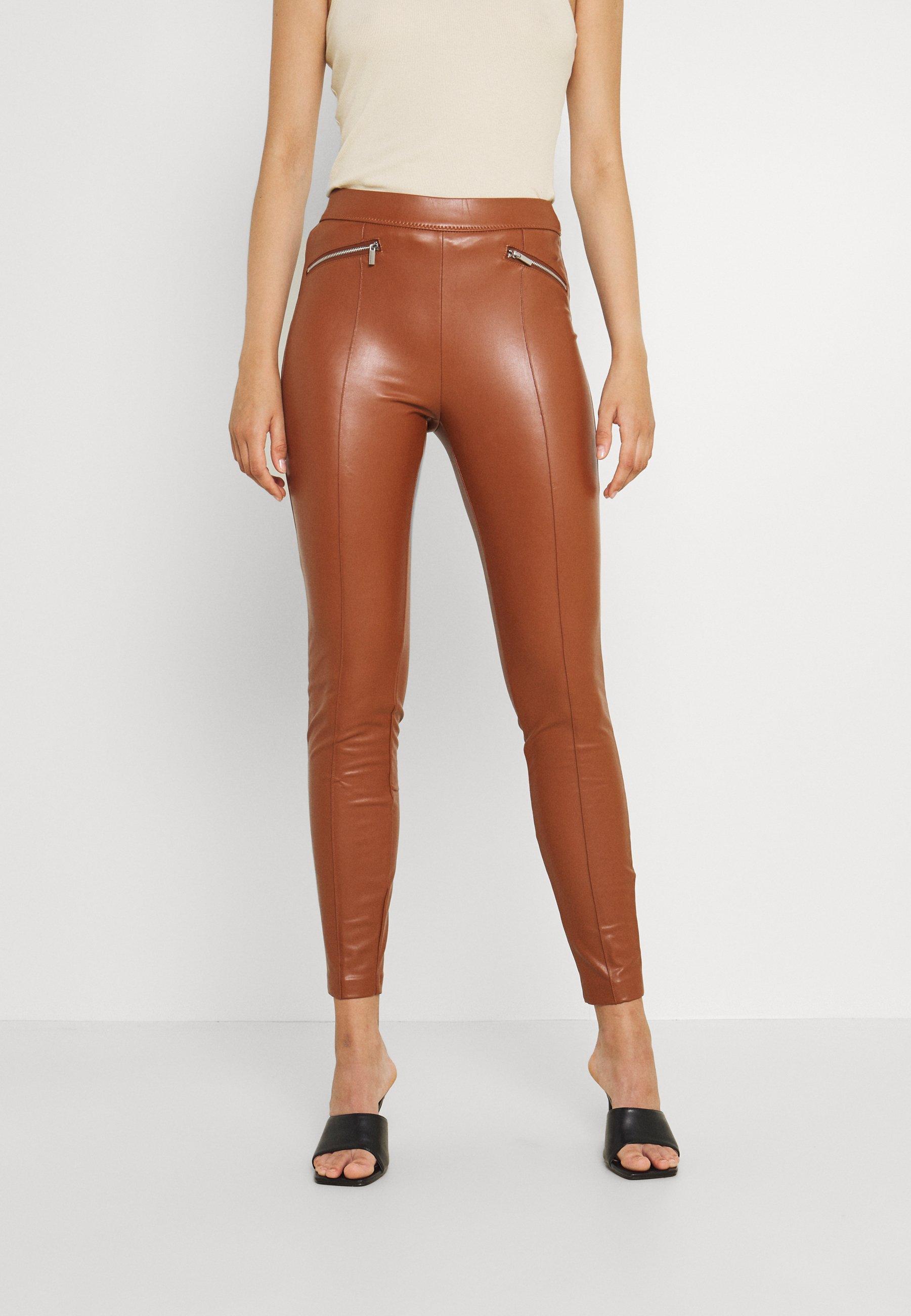 Damen VIKISS COATED - Leggings - Hosen