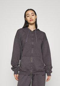 BDG Urban Outfitters - ZIP THROUGH HOODIE - Sweat à capuche zippé - grape - 0