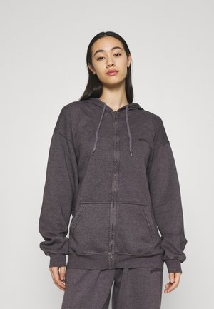 ZIP THROUGH HOODIE - Hoodie met rits - grape
