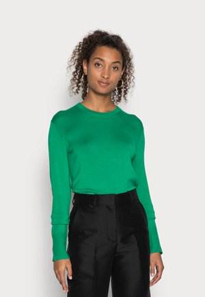 LARA SOFT CREW NECK - Neule - jolly green
