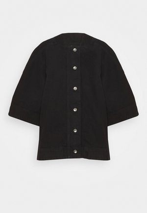 SPONGE JACKET  - Denim jacket - black