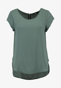 ONLY - ONLVIC SOLID  - Camiseta estampada - balsam green - 3