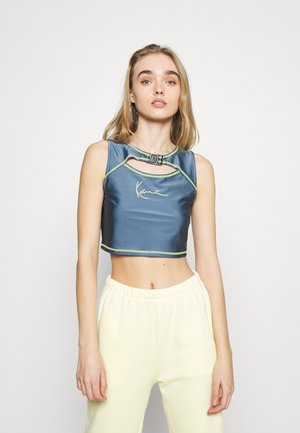 SMALL SIGNATURE CUTOUT CROPPED - Top - blue