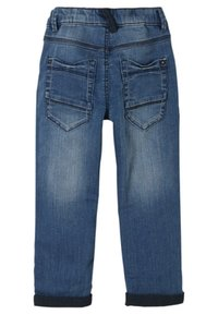 s.Oliver - Straight leg jeans - blue denim stretch - 1