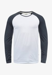 Solid - Long sleeved top - white bl m - 2