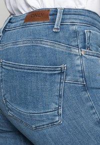 ONLY - ONLPOWER MID PUSH UP - Skinny-Farkut - light blue denim - 4