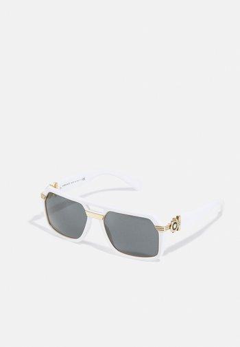 UNISEX - Sunglasses - white