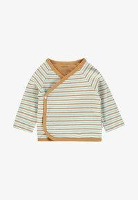 Noppies - OVERLAP PLUM BABY ZGREEN - Long sleeved top - brown - 0